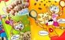 Auchan - opakowanie batoniki Rik & Rok